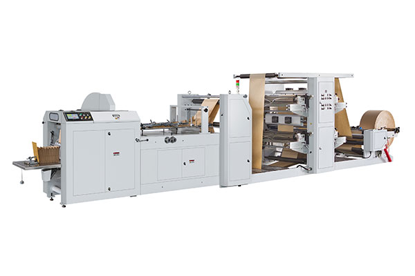 LMD-400+YT-4800 Automatic High Speed Paper Bag Machine With Flexo Printing Machine