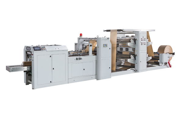 LSD-400+LST-4700 Automatic High Speed Paper Bag Machine With Flexo Printing Machine