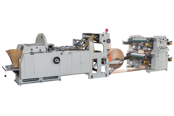 LMD-600+YT-4800 Automatic High Speed Paper Bag Machine With Flexo Printing Machine